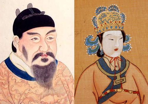 Tang gao jong Wu ze tian